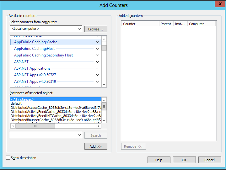 SharePoint2013DistCachecounters2