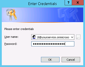 EnterCredentials